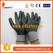 Nylon Black Nitrile Ultra Thin Fully Coated Gloves, CE (DPU420)